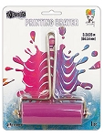Gel Plate Brayer - Medium Pink Roller