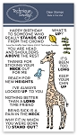 June the Giraffe Stamp Set