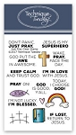 Just Pray Stamp Set