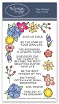 Just Us Girls Stamp Set
