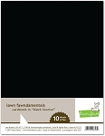 8.5 x 11 Cardstock Black Licorice