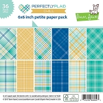 Perfectly Plaid Chill 6X6 Paper Pad