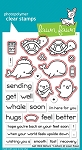 Get Well Before 'N Afters Stamp Set