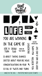 Life's A Game Stamp Set