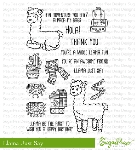 Llama Just Say Stamp Set