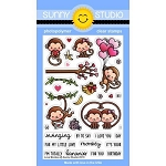 Love Monkey Stamp Set