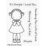 Blowing Kisses Stamp Set