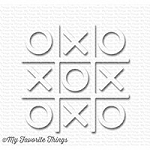 Tic Tac Toe Shapes - White