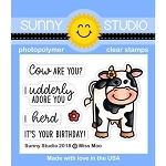 Miss Moo Stamp Set
