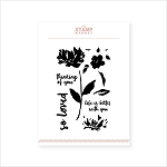 Painted Peony Stamp Set