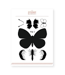 Papillon Stamp Set