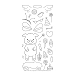 Pinky The Pig Stamp Set