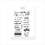 Plan It Stamp Set
