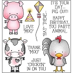 Barnyard Buddies Stamp Set
