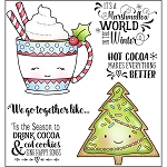 Cookies and Cocoa Stamp Set