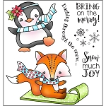 Snow Much Joy Stamp Set