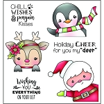 Peekin' Polar Pals Stamp Set