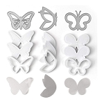 Shaker Shape Kit Butterflies
