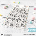 Little Penguin Agenda Stamp Set