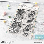 Pine And Posy Stamp Set