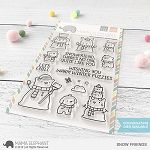 Snow Friends Stamp Set