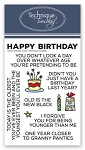 Sassy Birthday Stamp Set