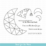 Shoot for the Moon Stamp Set