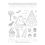 Silent Night Stamp Set