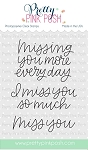 Simple Sayings: Miss You Stamp Set