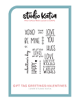 Gift Tag Greetings: Valentines Stamp Set