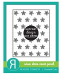 Snow Stars Cover Panel Confetti Cuts