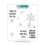 Snowflakes Turnabout Stamp Set