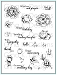 Stippled Flowers Stamp Set