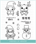 Friends Of Winter Stamp Set