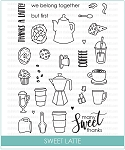 Sweet Latte Stamp Set
