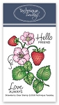 Strawberry Stamp Set