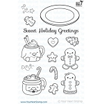 Sweet Holiday Greetings Stamp Set