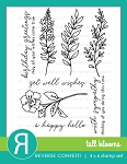 Tall Blooms Stamp Set