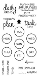 Planner Daily Grind Stamp Set