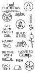 Planner Outdoors Stamp Set