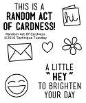 Random Act Of Cardness Stamp Set