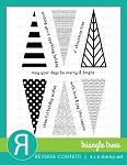 Triangle Trees Stamp Set