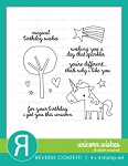 Unicorn Wishes Stamp Set