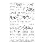 Welcome Home Stamp Set