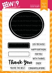 Basic Labels Stamp Set