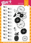 Citrus Background Builders Stamp Set