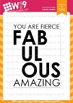 Fierce and Fabulous Stamp Set