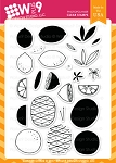 Summer Citrus Stamp Set
