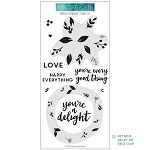 Wreath Turnabout Stamp Set