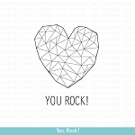 You Rock! Stamp Set